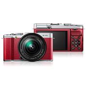 富士 X-A1 单电套机(XC 16-50mm F3.5-5.6 OIS 镜头)红色