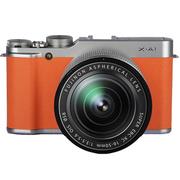 富士 X-A1 单电套机(XC 16-50mm F3.5-5.6 OIS 镜头)橙色 礼盒装