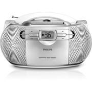 飞利浦 AZ1027/93 带动态低音提升功能的CD唱机 银色