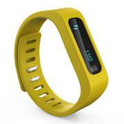 品佳 uu66 健康手环 卡路里计步器 智能手环手表 健康睡眠 黄色