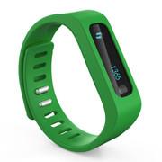 品佳 uu66 健康手环 卡路里计步器 智能手环手表 健康睡眠 绿色