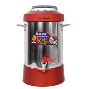 小鸭 全自动商务豆浆机 商用超大容量全钢果汁机豆花机 红色12L