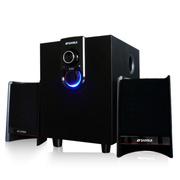 山水 GS-6000(11A)多媒体电脑音箱 音响 影响2.1低音炮 黑色