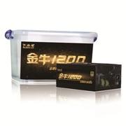 大水牛 1100W电源  金牛1200 (发烧级 / 80PLUS金牌认证 / 模组化 / 支持4显卡双CPU)