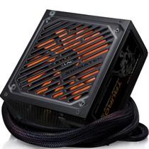 富钧 额定500W Tauro 500金牛座 电源 (80PLUS铜牌/半模组/温控转速135mm风扇)产品图片主图