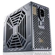 鑫谷 额定800W GP900G黑金电源(80plus金牌/半模组/多卡互联/支持背线/超静音)