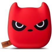 台电 Q版小恶魔 细腻手感移动电源充电宝 7500毫安 双USB 红色  T75Q-R