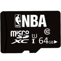 NBA Micro SHC (TF) 64G存储卡 Class 10(黑色)产品图片主图