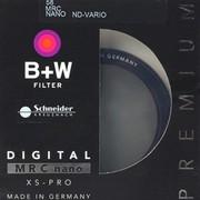 B+W 58 MRC NANO ND-VARIO 多膜 纳米 超薄 可调 减光镜