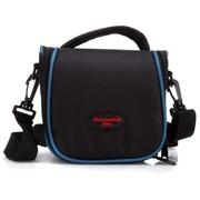 火柴人 CZ1022防震相机包 (黑色搭配蓝色饰条)