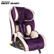 佰佳斯特(Best baby) 费莱罗 儿童汽车安全座椅 车载宝宝ISOFIX接口安全坐椅 9个月-12周岁 紫色