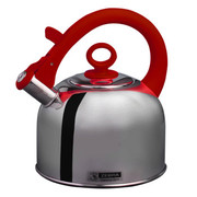 斑马 Zebra高级不锈钢琴音壶烧水壶3.5L 113491 红色