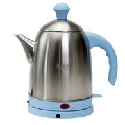 赫德赛 304不锈钢烧水壶 自动断电热水壶 电热开水壶 电水壶1.5L 天蓝色