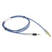 more-thing 适用于森海塞尔HD598/HD595/HD518/HD558耳机升级线ZY-060 蓝色
