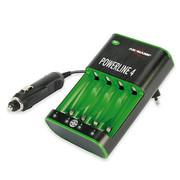 安斯曼 德国Powerline 4 全自动电池充电器 附车载附件