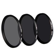 卓美 ND镜减光镜 中灰密度镜 ND2/4/8 佳能/尼康通用 单反减光滤镜 ND2 一档减光 82mm
