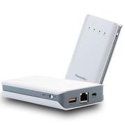影巨人 3G无线路由器P8201 wifi移动电源 直插联通电信SIM卡双模10000毫安 联通21M加强版