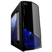 金河田 21+预见 N-3 MINI游戏 幻影黑机箱 (原生U3/全兼容SSD/背线/独立硬盘托架/水冷)
