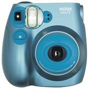 富士 instax mini7s相机 酷炫金属蓝