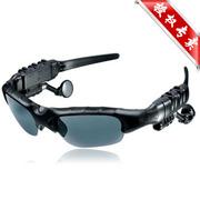 现代演绎 G100S 4G 夏日首选 蓝牙眼镜 听歌打电话 太阳墨镜 偏光镜 户外 黑色 官方标配+赠送500毫安充电器