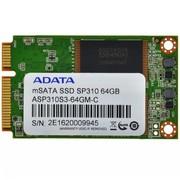 威刚 SP310 64G MSATA固态硬盘(ASP310S3-64GM)