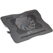 超频三 铁马 笔记本散热垫(黑色/全铝面板)