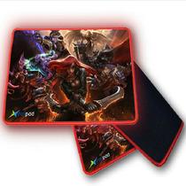 X-RAYPAD aqua4英雄联盟LOL限量版游戏鼠标垫锁边加大电竞鼠标垫产品图片主图