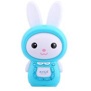 知识花园 早教故事机P6 可充电下载Mp3婴幼儿童玩具2G内存触控七彩梦幻耳灯 蓝色