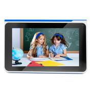 巧智 学习平板电脑H9 双核7寸高清电容润眼屏学生平板电脑幼儿小学初高中同步点读同步 蓝色8G版+16G卡