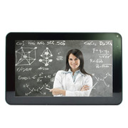 巧智 学生平板学习电脑 9寸大屏安卓学习双系统九门功课同步辅导小学中学名师视频 A-9 白色8G版+8G卡