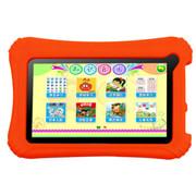 巧智 宝贝电脑H5 7寸学习机幼儿平板电脑点读机内置10大幼儿学习模块安卓双系统 白色8G版+16G卡
