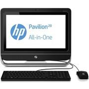 惠普 Pavilion 20-a110cn 20英寸一体电脑 (G1610 4G 500GB 1GB独显 DVD刻录 键鼠 win8)