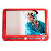 小霸王 移动可视播放器SU-7777A 20英寸高清电视版看戏机视频机带DVD功能老人唱戏机  红色标配+16G戏曲广场舞卡
