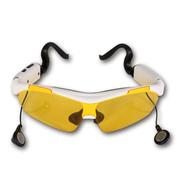 CASMELY 韩国 智能触控蓝牙太阳镜 男女偏光蓝牙眼镜 可听音乐通话 白色