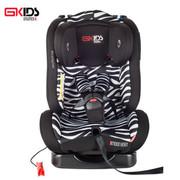 环球娃娃 GKIDS汽车儿童安全座椅0-4岁德国品质ISOFIX接口正反安装可躺新生儿座椅 斑马纹