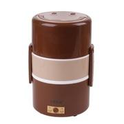 十度良品 SD-910多功能不锈钢电热饭盒 插电加热饭盒 多功能 三胆