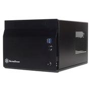 银欣 SST-SG06B-LITE 小机箱 黑色(铝面板)
