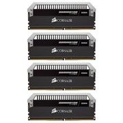 海盗船 统治者铂金 DDR4 2666 16GB(4Gx4条) 台式机内存(CMD16GX4M4A2666C15)