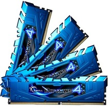 芝奇 Ripjaws 4 DDR4 2400 16G(4G×4条)台式机内存(F4-2400C15Q-16GRB)产品图片主图