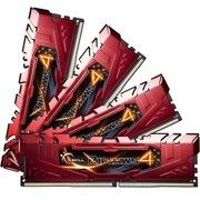 芝奇 Ripjaws 4 DDR4 3000 16G(4G×4条)台式机内存(F4-3000C15Q-16GRR)