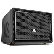 金河田 21+预见 N-1 MINI 魔力黑机箱 (原生U3/10秒开机SSD/水冷/原生支持标准大电源)