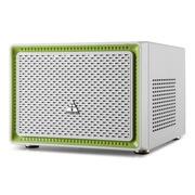 金河田 21+预见 N-1 MINI 珍珠白机箱 (原生U3/10秒开机SSD/水冷/原生支持标准大电源)