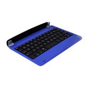 特洛利 iPad mini2 蓝牙键盘 无线蓝牙键盘 钛合金键盘 蓝色
