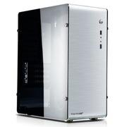 鑫谷 铝行者 全铝机箱 金属银 超窄边框-大侧透(原生U3/SSD/一体成型)