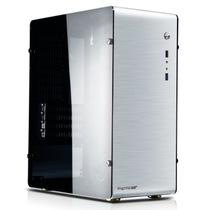 鑫谷 铝行者 全铝机箱 金属银 超窄边框-大侧透(原生U3/SSD/一体成型)产品图片主图