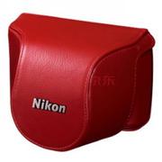 尼康 CB-N2000 Nikon1 J1/J2 专用相机包 白色 红色