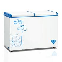 美的 BCD-271VMQ双温冷冻冷藏卧式家用商用冷柜冰柜产品图片主图