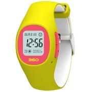 360 儿童卫士2 智能定位手表W361 柠檬黄