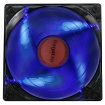 鑫谷 翼风YF-12 游戏机箱风扇 LED蓝光/9片扇叶/超大风量/双供电接口产品图片主图