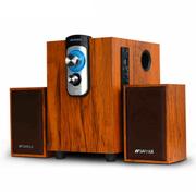 山水 Sansui/音响 可插U盘 低音炮台式木质多媒体电脑音箱